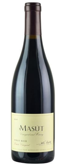 2016 Masut Pinot Noir Masut Estate Vineyard
