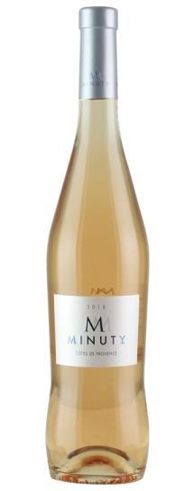 2018 Minuty Cotes de Provence M de Minuty Rose