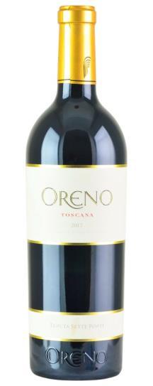 2017 Sette Ponti Oreno Proprietary Red Wine