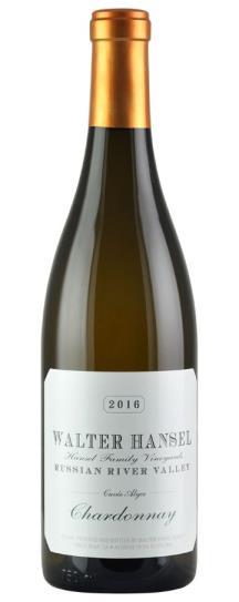 2016 Walter Hansel Winery Chardonnay Cuvee Alyce