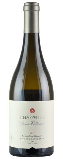 2017 Chappellet Chardonnay Growers Collection El Novillero Vineyard Carneros