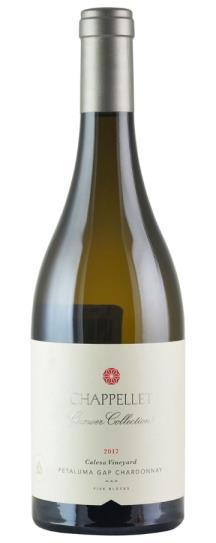 2017 Chappellet Chardonnay Growers Collection Calesa Vineyard Petaluma