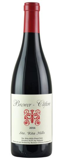 2016 Brewer-Clifton Pinot Noir Santa Rita Hills