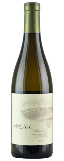 2017 Spear Vineyards & Winery Chardonnay Gnesa Vineyard