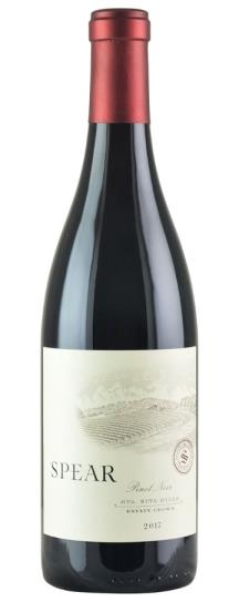 2017 Spear Vineyards & Winery Pinot Noir Sta. Rita Hill