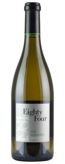 2018 Eighty Four Wines Albarino
