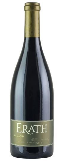 2015 Knudsen Erath Pinot Noir  Leland Vineyard