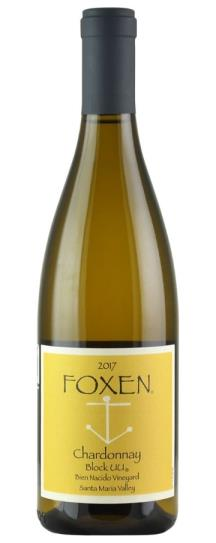 2017 Foxen Vineyard Chardonnay Block UU Bien Nacido Vineyard