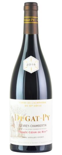 2016 Domaine Dugat-Py Gevrey Chambertin Coeur de Roy Tres Vieilles Vignes