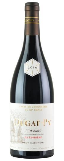 2016 Domaine Dugat-Py Pommard La Levriere Trés Vieilles Vignes