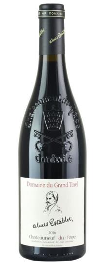 2016 Domaine du Grand Tinel Chateauneuf du Pape Cuvee Alexis Establet