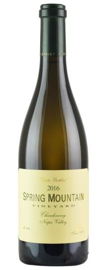 2016 Spring Mountain Vineyard Chardonnay