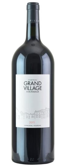 2011 Chateau Grand Village Bordeaux Blend