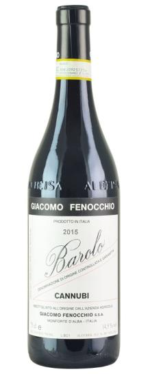 2015 Giacomo Fenocchio Barolo Cannubi