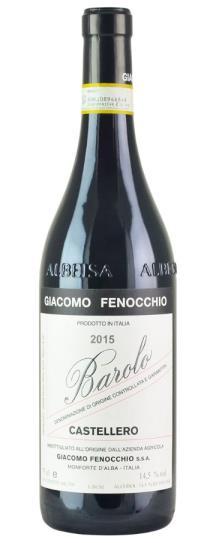 2015 Giacomo Fenocchio Barolo Castellero