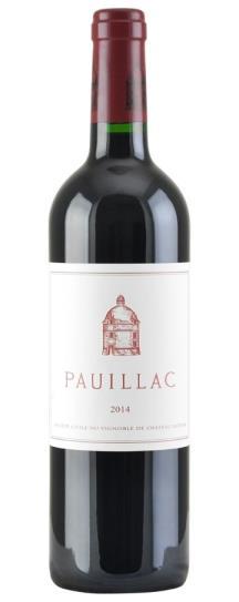 2014 Pauillac de Chateau Latour Bordeaux Blend