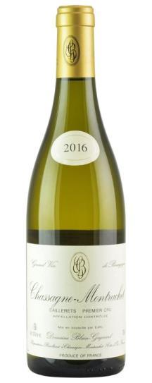 2016 Domaine Blain-Gagnard Chassagne Montrachet Caillerets