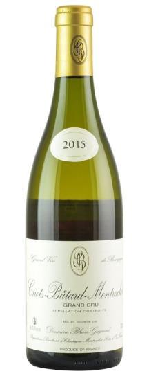 2015 Domaine Blain-Gagnard Criots Batard Montrachet