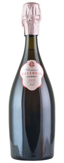 2007 Gosset Brut Champagne Celebris Rose