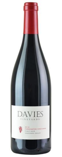 2016 Davies Vineyard J. Davies Pinot Noir Anderson Valley