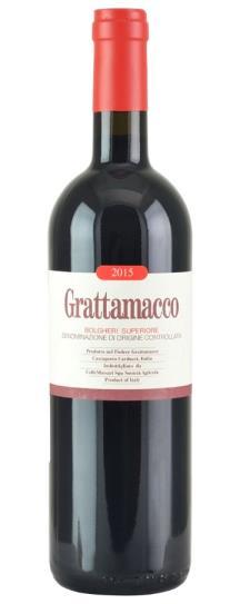 2015 Grattamacco Bolgheri Superiore