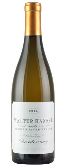 2016 Walter Hansel Winery Chardonnay Cahill Lane