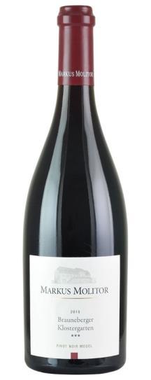 2015 Markus Molitor Brauneberger Klostergarten Pinot Noir Qba***