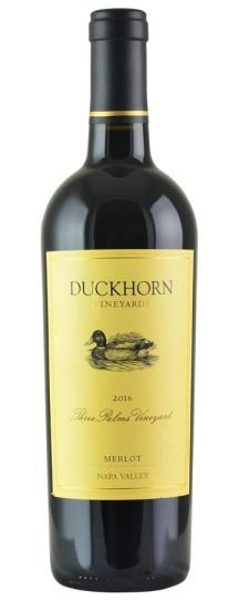 2016 Duckhorn Merlot Three Palms Vineyard