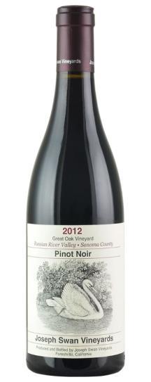 2012 Joseph Swan Pinot Noir Great Oak