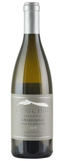 2016 Chalk Hill Chardonnay Estate