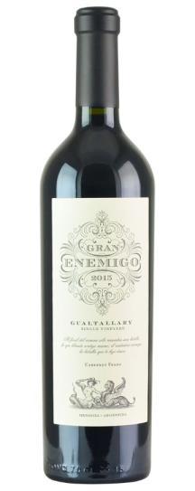 2015 Bodega Aleanna Gran Enemigo Gualtallary Single Vineyard