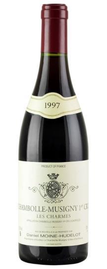 1997 Domaine Moine-Hudelot Chambolle Musigny les Charmes