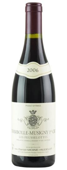 2006 Domaine Moine-Hudelot Chambolle Musigny 1er Feusselottes