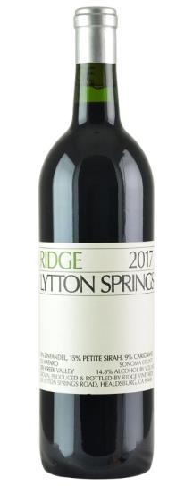 2017 Ridge Lytton Springs Proprietary Red Wine