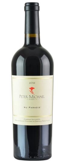2016 Peter Michael Winery Cabernet Au Paradis