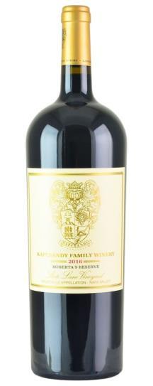 2016 Kapcsandy Family Winery Roberta's Reserve State Lane Vineyard