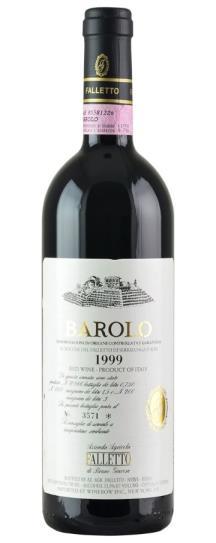 1999 Bruno Giacosa Falletto Vigna Le Rocche White Label