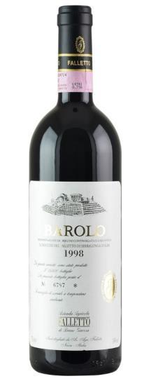 1998 Bruno Giacosa Falletto Vigna Le Rocche White Label