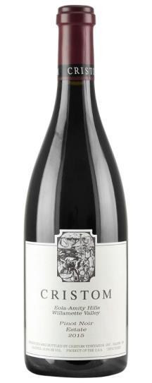 2015 Cristom Pinot Noir