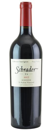 2017 Schrader Cellars T6 Cabernet Sauvignon Beckstoffer To Kalon Vineyard