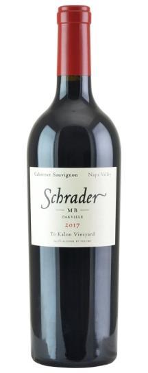 2017 Schrader Cellars MB To Kalon Vineyard Cabernet Sauvignon