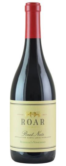 2017 Roar Pinot Noir Rosella's Vineyard