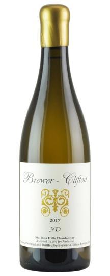 2017 Brewer-Clifton Chardonnay 3 D