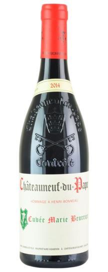 2014 Henri Bonneau Chateauneuf du Pape Cuvee Marie Beurrier