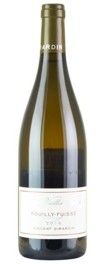 2016 Vincent Girardin Pouilly Fuisse Vieilles Vignes