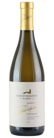 2015 Robert Mondavi Winery Fume Blanc To Kalon Estate Reserve