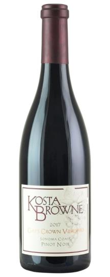 2017 Kosta Browne Pinot Noir Gap's Crown Vineyard