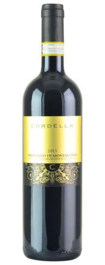 2015 Cordella Brunello di Montalcino