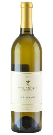 2018 Peter Michael Winery Sauvignon Blanc l'Apres Midi