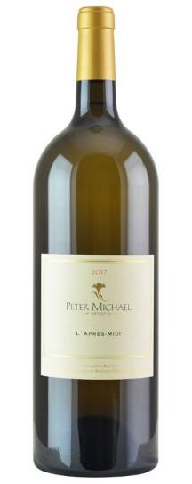 2017 Peter Michael Winery Sauvignon Blanc l'Apres Midi